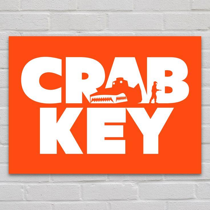 CRAB KEY Metal Poster @ http://displate.com/displate/49948/steel-canvas-movies-&-tv-crab-key-dr-no-007-james-bond-villain