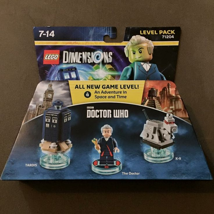 Who's Who? Doctor Who level pack. Lego dimensions