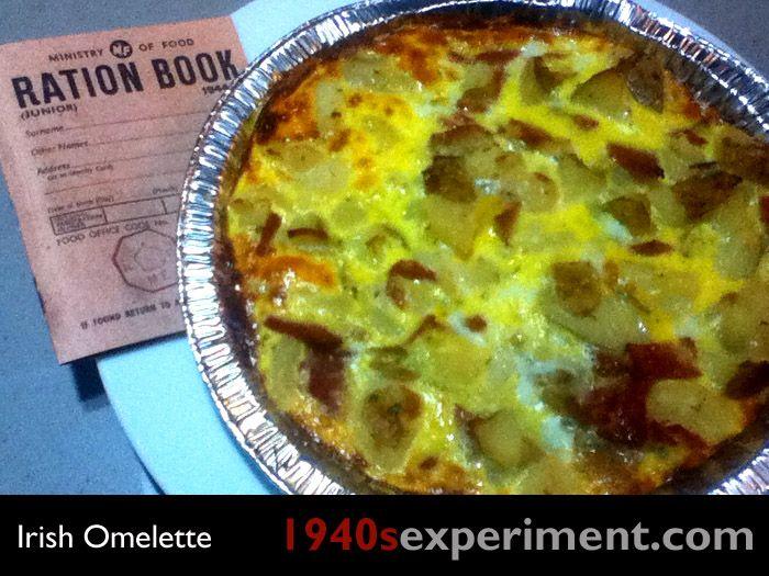154 best 1940s recipes images on pinterest vintage recipes irish omelette no 106 forumfinder Images