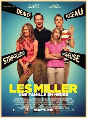"""JEU-CONCOURS : GAGNEZ DES DVD ET BLU-RAY DE """"LES MILLER, UNE FAMILLE EN HERBE"""", LA MEILLEURE COMÉDIE DE L'ANNÉE !"""