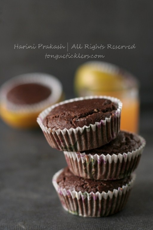 Vegan, gluten free, casein free, nut free, lactose free – Cocoa Orange Cup Cakes