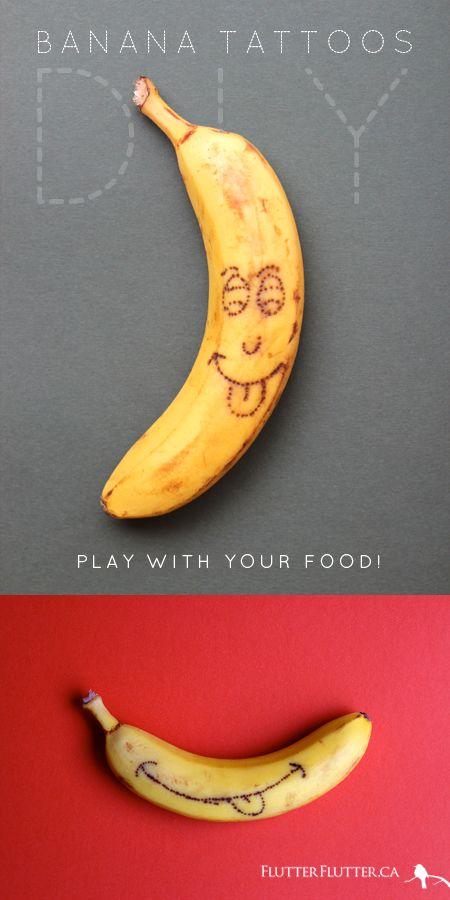 BananaTattoosDIY