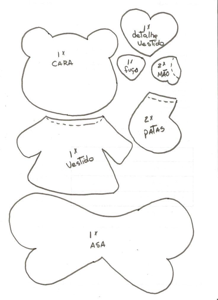 306.-+OSITO+PLANO+CON+ALITAS.MOLDE.jpg (1163×1600)