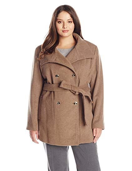 31a40a6b678 The perfect Calvin Klein Women s Plus-Size Wool-Blend Double-Breasted Coat  online.   149.99  newforbuy from top store