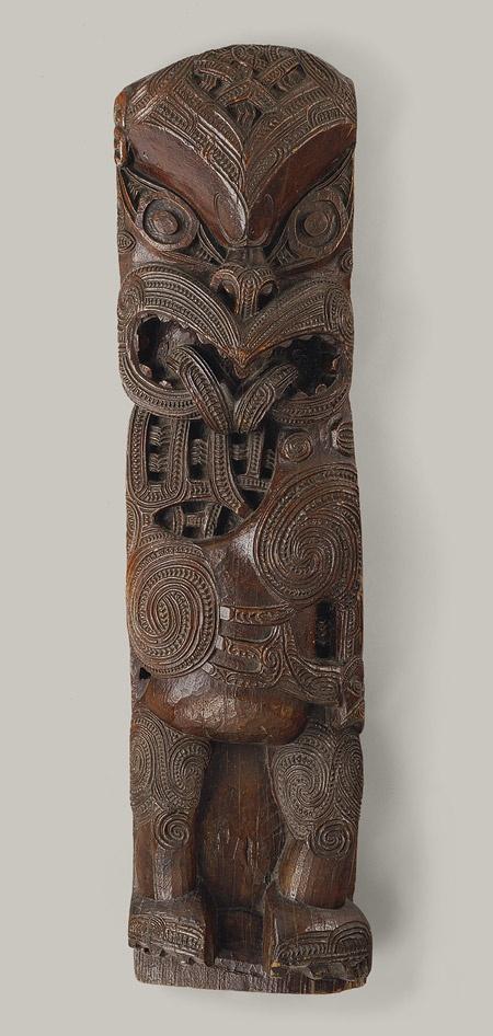 House Post Figure (Amo) [Maori people, Te Arawa region, Aotearoa (New Zealand)] (1979.206.1508) | Heilbrunn Timeline of Art History | The Metropolitan Museum of Art