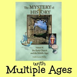 Using The Mystery of History with multiple ages; includes our weekly schedule for history