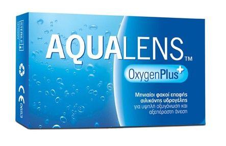 AQUALENS Oxygen Plus 3pack - 11.90€ - Φακός επαφής μηνιαίας αντικατάστασης Σιλικόνης Υδρογέλης τρίτης γενιάς για καθημερινή χρήση, προσφέρει υψηλή οξυγόνωση και αξεπέραστη άνεση.  Επιτρέπει μεταφορά περισσότερου οξυγόνου στον κερατοειδή για άριστη οφθαλμική υγεία. Ασφαιρικός σχεδιασμός για καλύτερη ποιότητα όρασης. Υψηλή περιεκτικότητα σε νερό εξασφαλίζοντας την μέγιστη βιοσυμβατότητα με την επιφάνεια του κερατοειδή. Μικρή γωνία διαβροχής για πλήρη ενυδάτωση σε όλη τη διάρκεια της χρήσης.