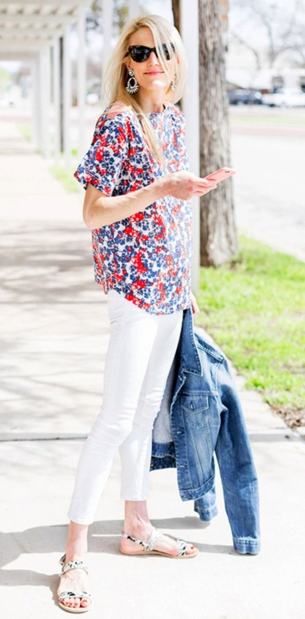 40 Adorable Casual Outfits For 30 Year Old Women Feminatalk Clothes For Women Over 40 Clothes For Women 40 Fashion Women