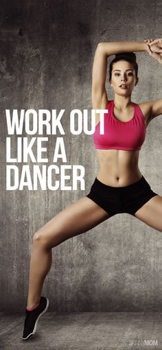 Get a dancer's body with this workout! #fitness #workout