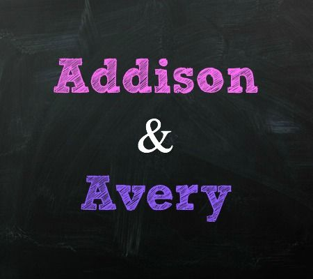 Addison and Avery Twin Baby Names | Disney Baby