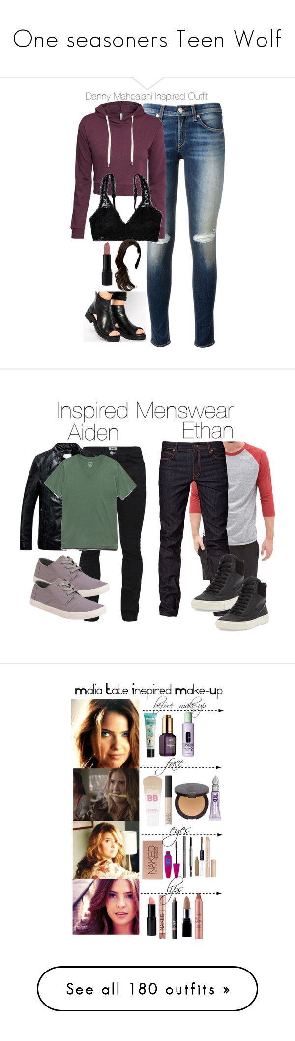 """One seasoners Teen Wolf"" by samtiritilli666lol ❤ liked on Polyvore featuring rag & bone, H&M, ASOS, Aerie, INIKA, tw, dannymahealani, 21 Men, Cheap Monday and Acne Studios"