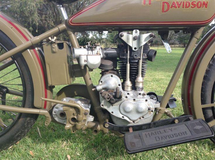 1928 Harley Davidson Ohv 350cc Peashooter