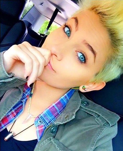 Paris Jackson (age 18) in April 2016