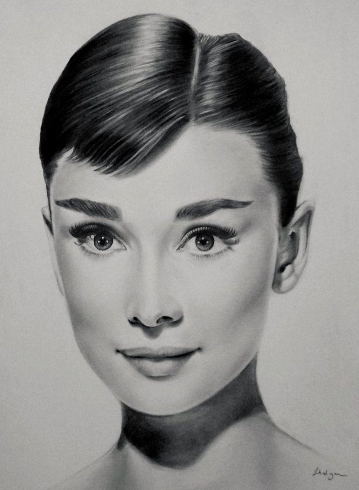 Audrey Hepburn by luceene-k on DeviantArt
