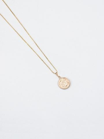 RELIQUIA | Mini Gold Coin Necklace and Chain in 18ct Gold Filled | The UNDONE by Reliquia