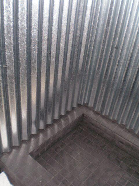Captivating Sheet Metal Shower Design