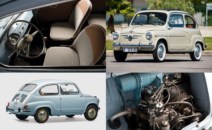 Двухдверка Seat 600 выпускалась с 1957-го по 1973 год. Это была лицензионная копия Фиата 600. Машина длиной 3322 мм оснащалась «четвёркой» объёмом 633 см³ (19 л.с.), а позднее — 767 см³ (22 л.с.). Коробка передач — четырёхступенчатая «механика».