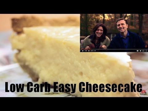 Low Carb Easy Cheesecake by Dr. Berg!  Full Recipe: https://www.drberg.com/blog/recipes/low-carb-easy-cheesecake