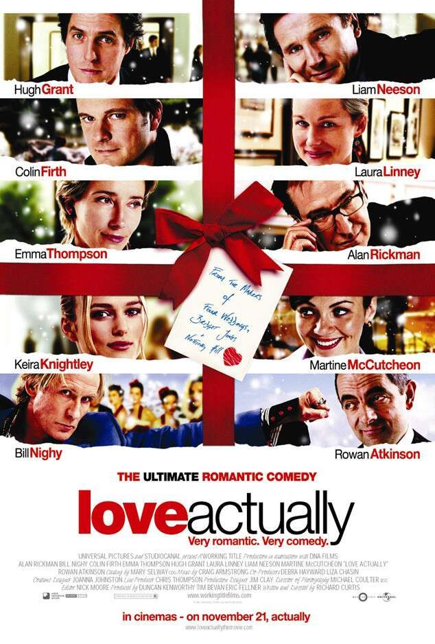Let S Talk About Christmas Movies And Blessings Love Actually Movie Romantic Comedy Movies Best Christmas Movies