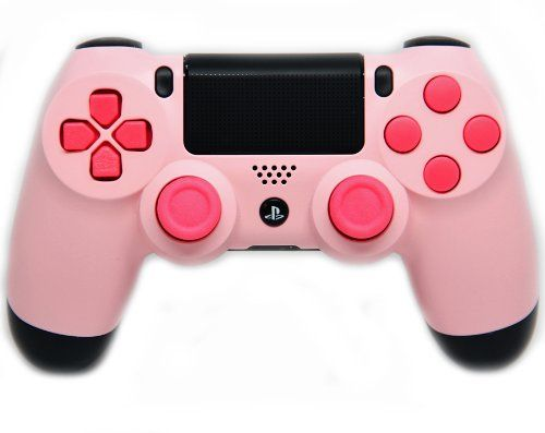 "This is our ""Pink Panther"" PlayStation 4 Modded Controller. It is a perfect gift for a special gamer in your life. Order yours today at: http://moddedzone.com/ You can also visit our eBay store at: http://stores.ebay.com/moddedzone/"