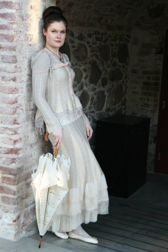 Design a wedding dress for