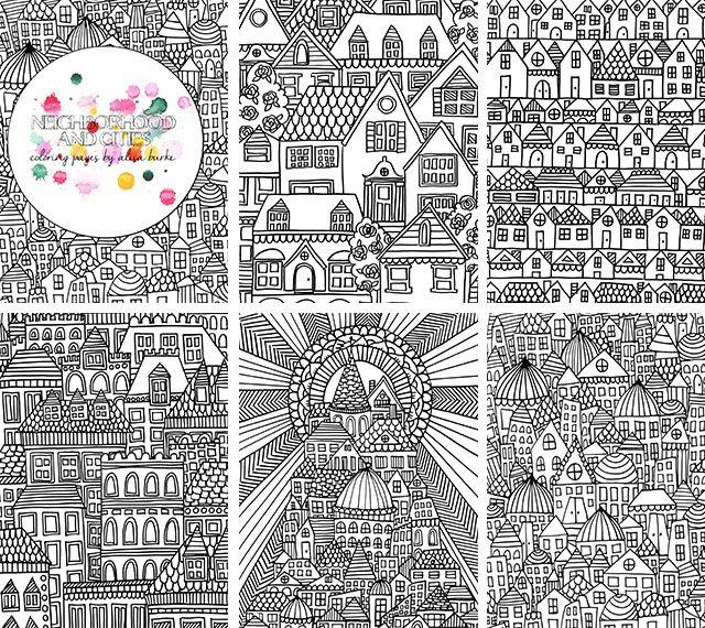 alisaburke: coloring page sale!