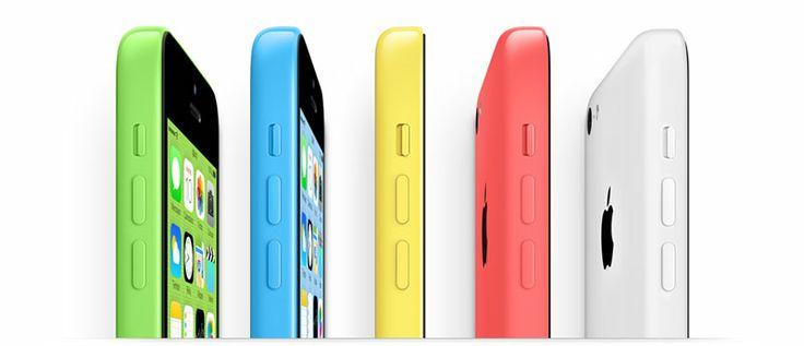 Nuevo #iPhone #5C #Apple si hay color