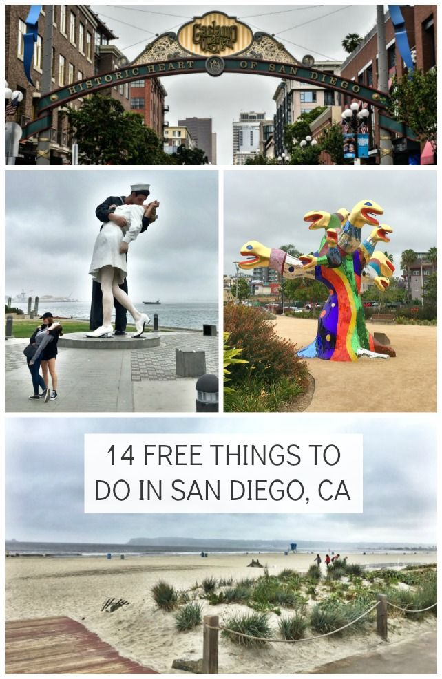 14 Free things to do in San Diego, CA with kids!
