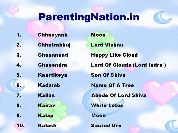 indian baby name in hindi pdf