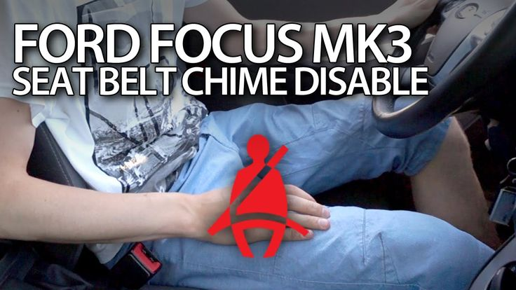 #Ford #Focus MK3 disable seat belt reminder chime #fordFocus #cars #reminder #seatbeltChime