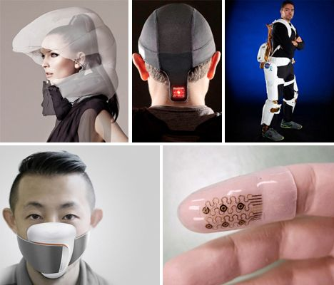 Beyond Google Glass: 13 Real-Life Wearable Tech Inventions @Hollie Baker Kaitoula Tou Rodolfou Maslarova