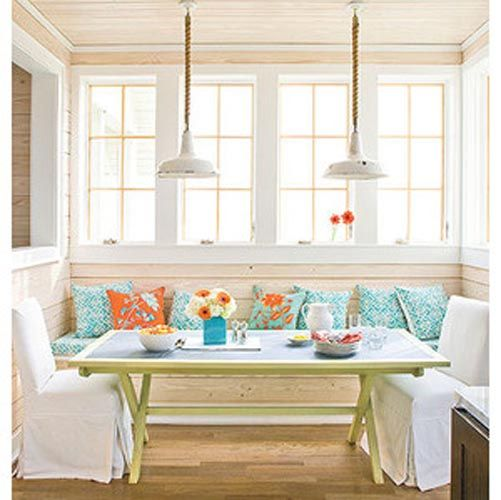 Coastal dining room decor ideas 1 dining room pinterest for Coastal design ideas