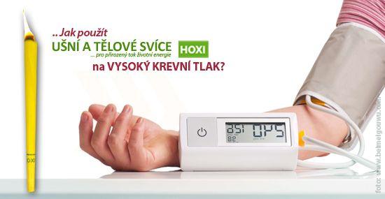 Při extrémně vysokém krevním tlaku se nedoporučuje žádná aplikace. Osoby, které mají vysoký krevní tlak, by neměly svíce HOXI nikdy aplikovat na oblast trupu, hlavy a na místa, kde jsou žíly a tepny. Pokud je však tlak vyšší nebo kolísavý doporučuje se aplikace svíček spíše jako vyrovnávací energetizující faktor, a to 1 x za 14 dní na místo 1 cm nad pupík....