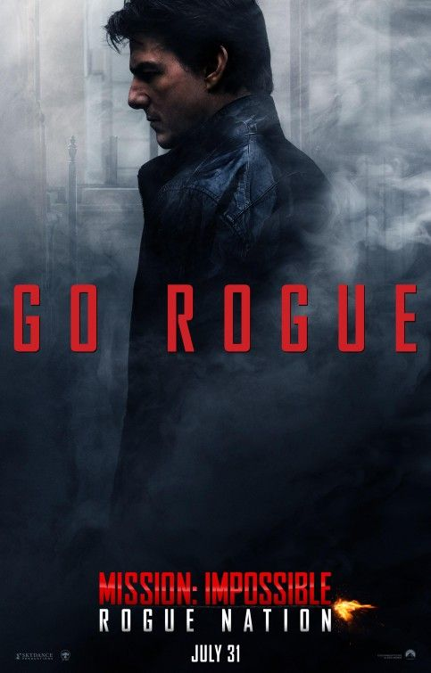 Mission: Impossible: Rogue Nation (2015) directed by Christopher McQuarrie…