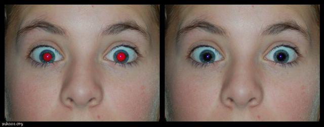 Samsung Galaxy S6 togliere occhi rossi nelle foto