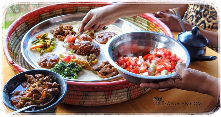 Ethiopian cuisine is part of the cultural experience
