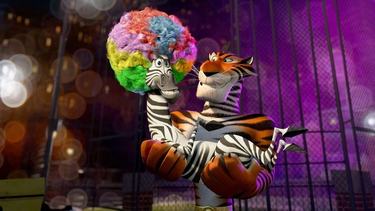 madagascar 3 europes most wanted : High Definition Background