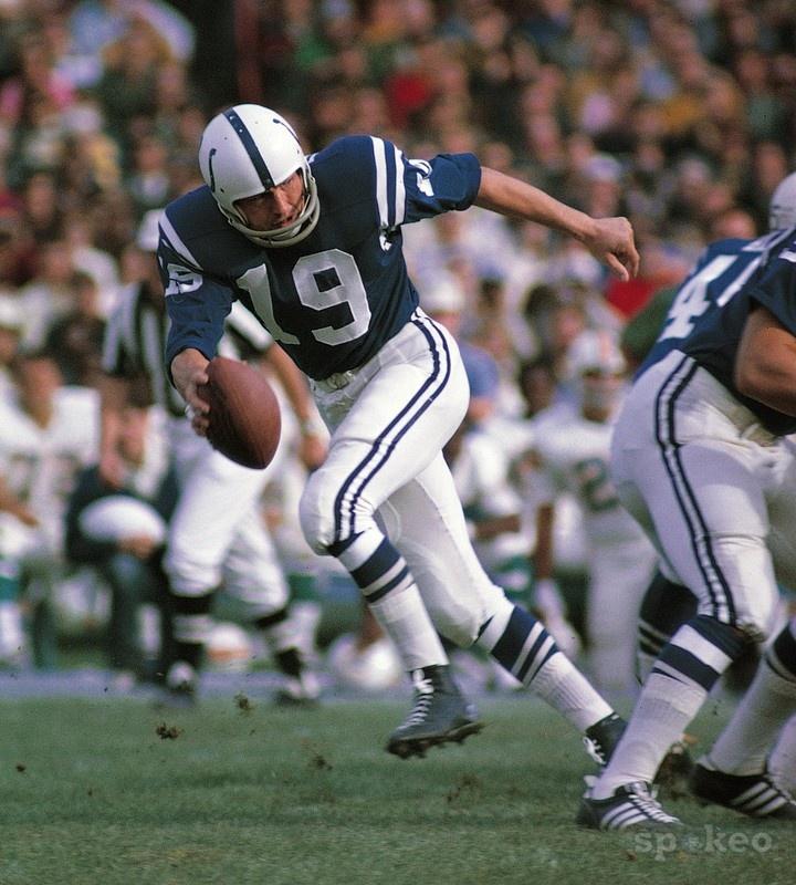 Johnny Unitas, Baltimore Colts #unitas#amazing#handsome