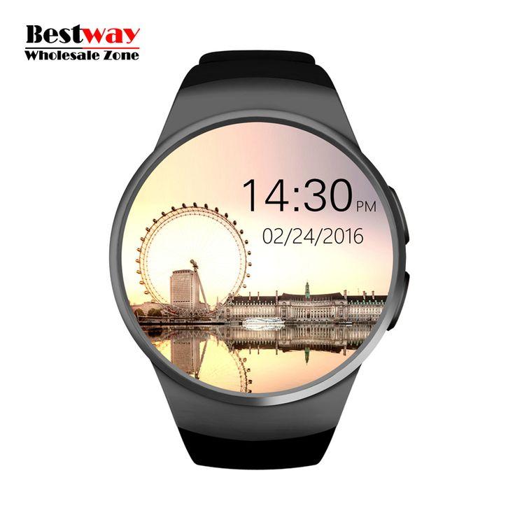 Großhandel 10 teile/los KW18 Smartwatch Smart Uhr Android Uhren Digital-uhr Pulsuhr SIM/Micro Sd-karte freies Verschiffen //Price: $US $699.99 & FREE Shipping //     #smartuhren