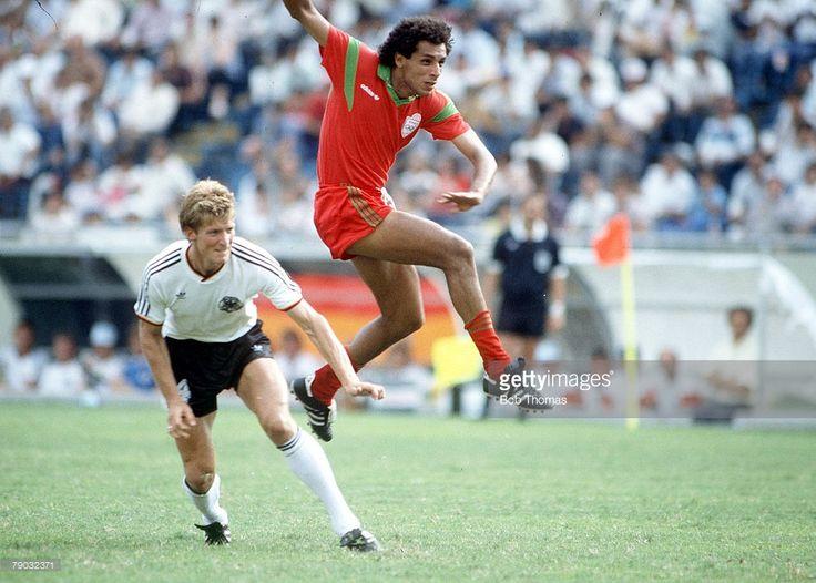 1/8f: Morocco - West Germany 0:1