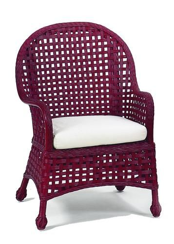 Riviera Loggia Wicker Chair Has A Casual Open Weave Wicker Which Meets A  Gently Curved Contemporary