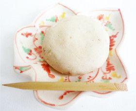 電子レンジ簡単 そばまんじゅう 蕎麦饅頭