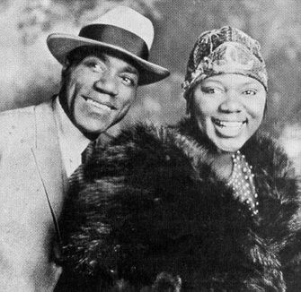dtboner2:  Bessie Smith with her first husband, Jack Gee.