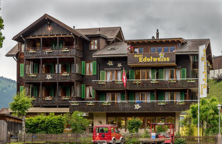 Our Stay at the Hotel Edelweiss, Wengen, Switzerland