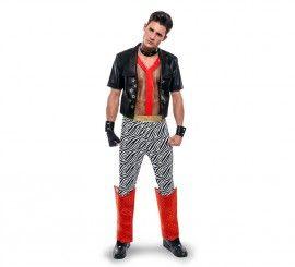 Disfraz de Punky de los años 80 para hombre