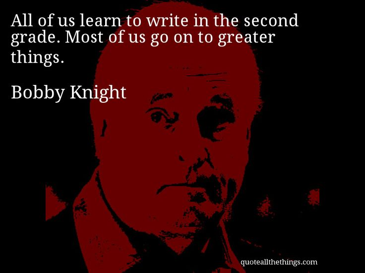 Bobby Knight Quotes. QuotesGram