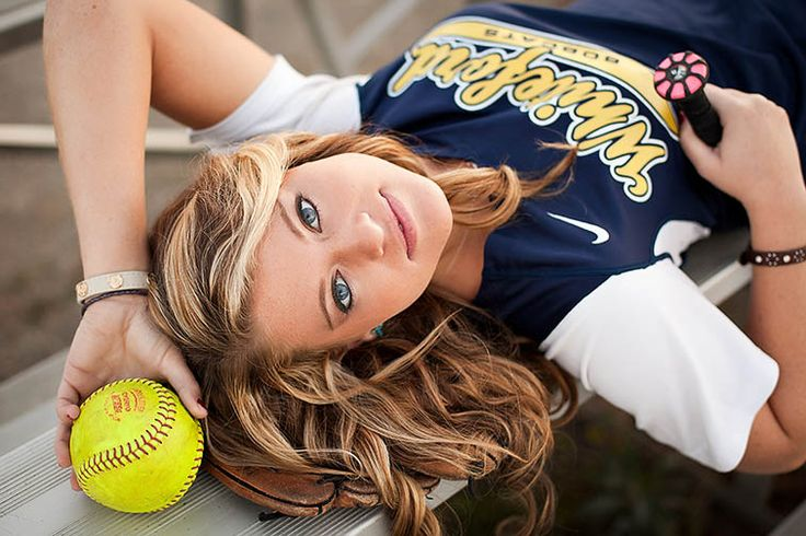 Softball Senior Pictures // Ohio and Michigan // Michelle Chernock Photography
