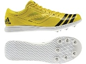 ADIZERO TJ 2   #Adidas #FieldEvent #Competition #Yellow #TrackandField #Sports #TripleJump