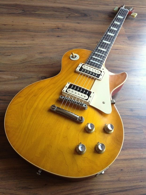 Plain Jane: 2012 Gibson Les Paul R0 (1960 Reissue) plaintop