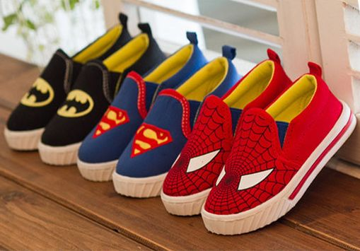 What superhero fan is not going to want a pair of these? Available at Handsome & Divine. Find us on Facebook